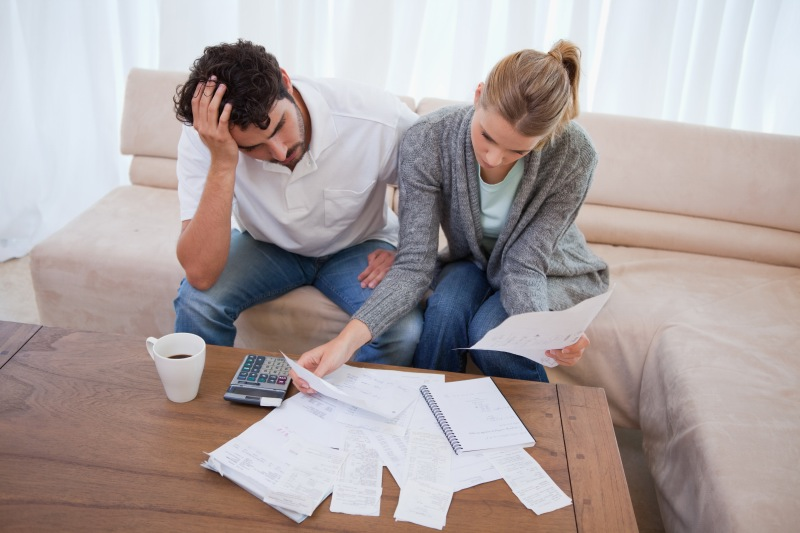 financial struggles impacting sex