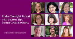 9 Great Tips from 9 Great Sexperts